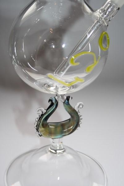 420 chalcedony bong murano glass
