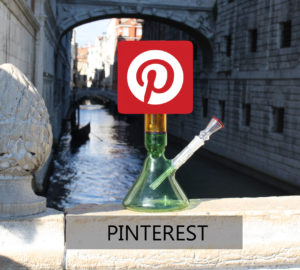 PINTEREST LOGO 420 MURANO GLASS