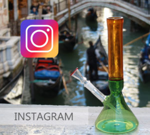 INSTAGRAM LOGO 420 MURANO GLASS